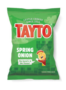 Spring Onion Tayto Crisps
