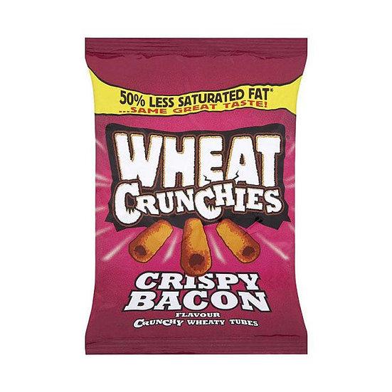Wheat Crunchies Crispy Bacon Wheat Snack