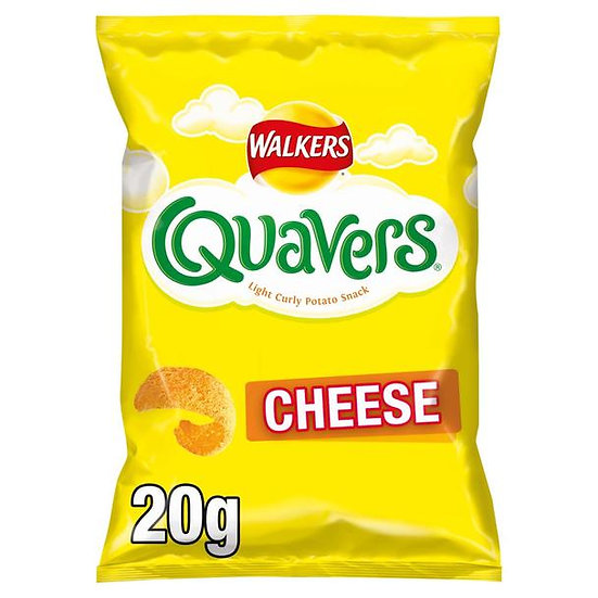 Quavers Cheese Curly Snack