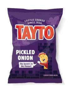 Pickled Onion Tayto Crisps