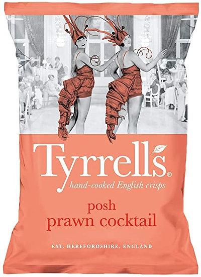 Posh Prawn Cocktail Tyrrells Crisps