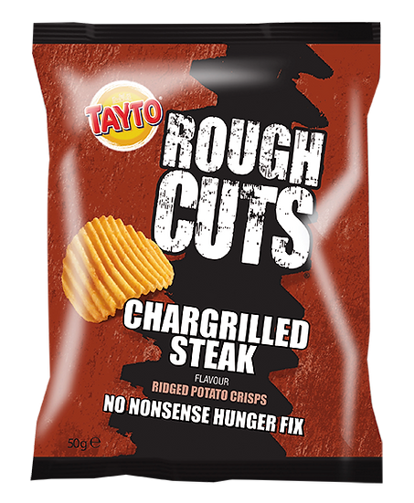 Chargrilled Steak Rough Cuts Crisps