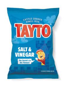 Salt & Vinegar Tayto Crisps