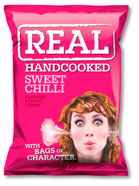 Sweet Chilli Real Crisps