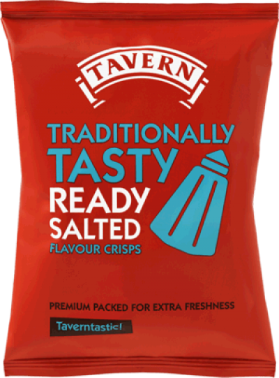 Ready Salted Tavern Crisps
