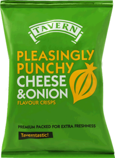 Cheese & Onion Tavern Crisps