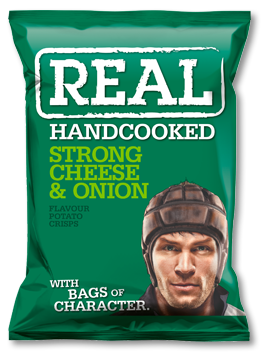 Stronge Cheese & Onion Real Crisps