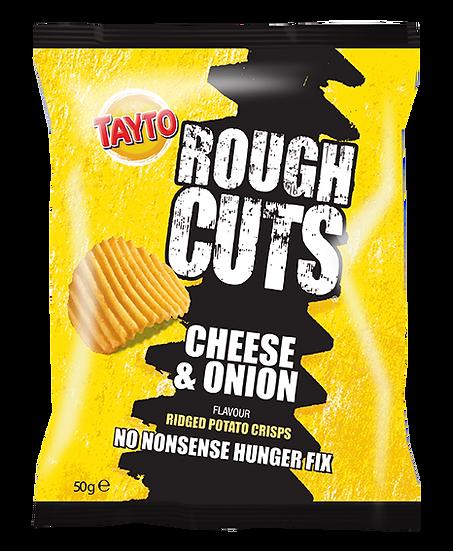 Cheese & Onion Rough Cuts Crisps