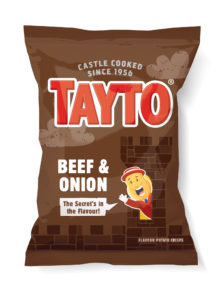 Beef & Onion Tayto Crisps