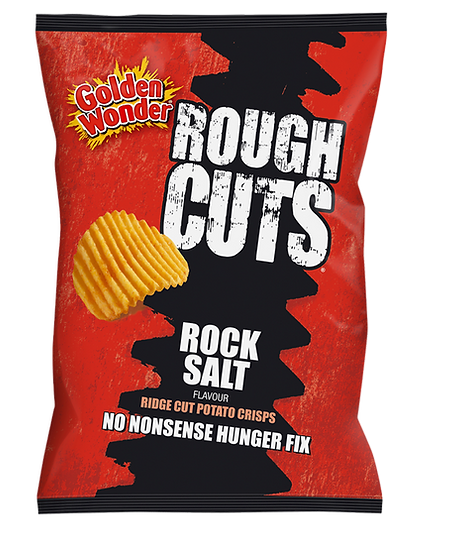 Ready Salted Rough Cuts Crisps