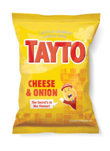 Cheese & Onion Tayto Crisps