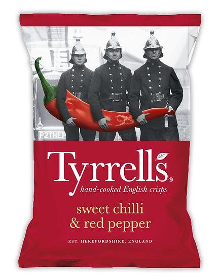 Sweet Chilli & Red Pepper Tyrrells Crisps