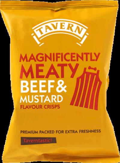 Beef & Mustard Tavern Crisps
