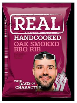 Oak Smoked BBQ Real Crisps