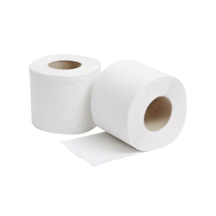 2 PLY White Bulk Fold Toilet Tissue