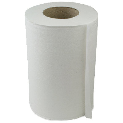White mini centrefeed 2ply  blue centrefeed