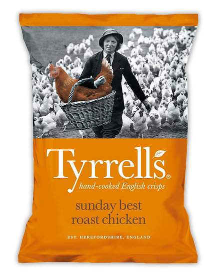 Roast Chicken  Tyrrells Crisps