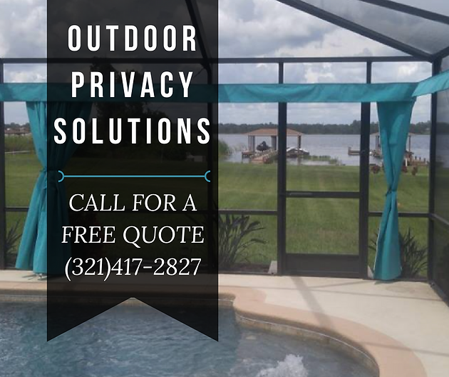 Pool Privacy Curtains outdoor privacy solutions | outdoor privacy solutions