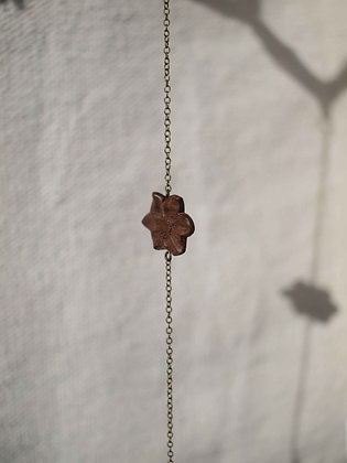 Bracelet fleur chêne