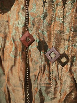 Bracelet bois et laiton