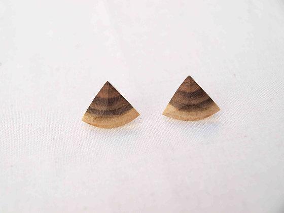 Boucles d'oreilles pyramide