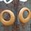 Thumbnail: Boucles bohèmes ocre jaune