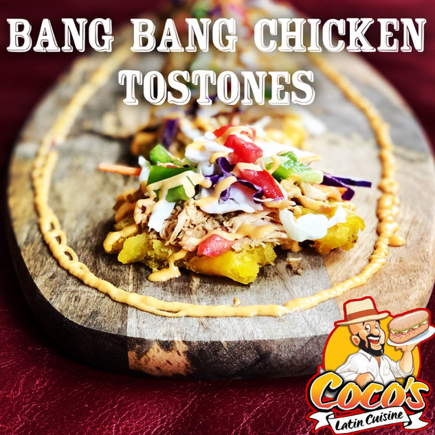 Chicken Tostones