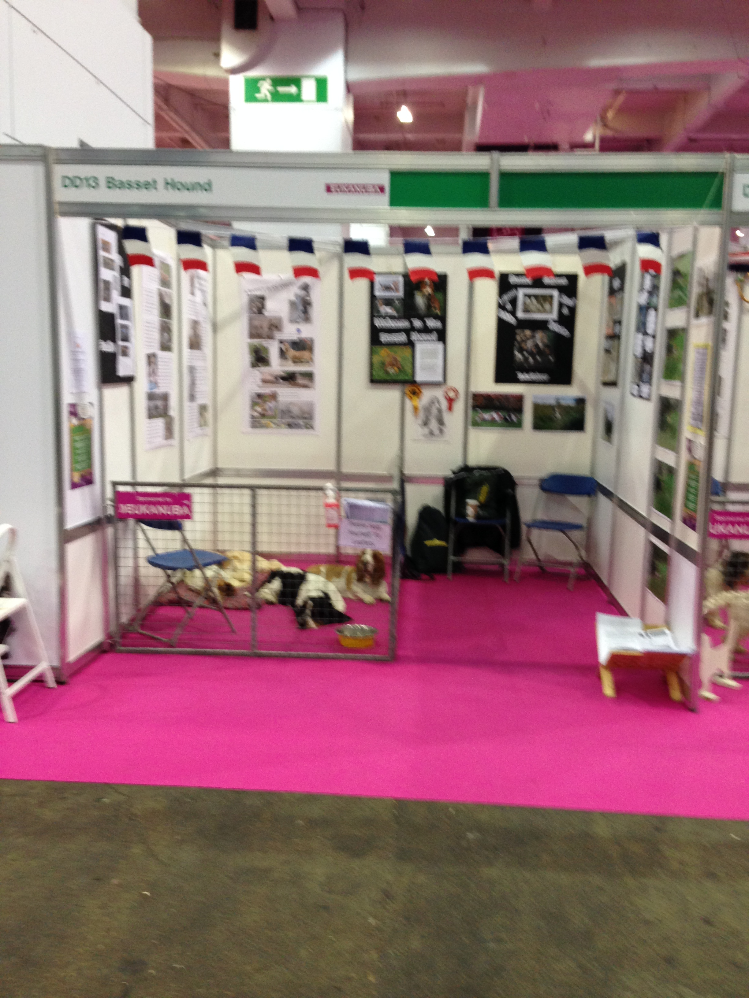 The Basset Hound Booth