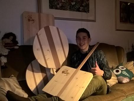 Mattis Mannamobil Holzbretter