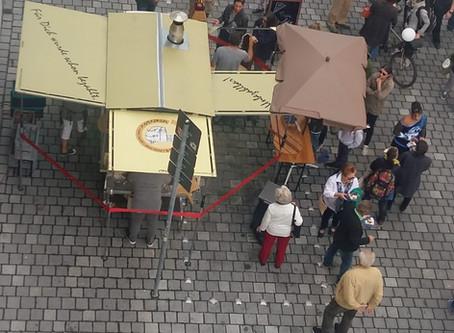 Mannamobil auf dem Bäckergassenfest gelandet