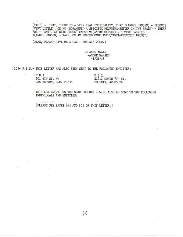 Extras, letter 5, page 3          201912