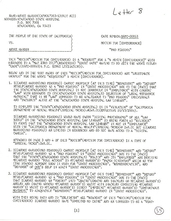 OWOM letter 8, page 1     20191125_20055