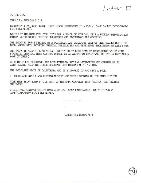 OWOM letter 17, page  1 20191126_1603490