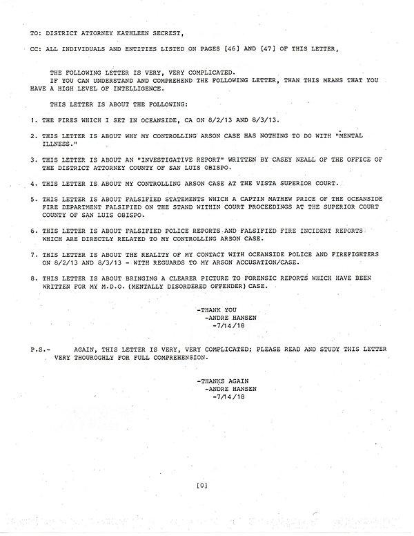 OWOM letter 30, page 0            201912