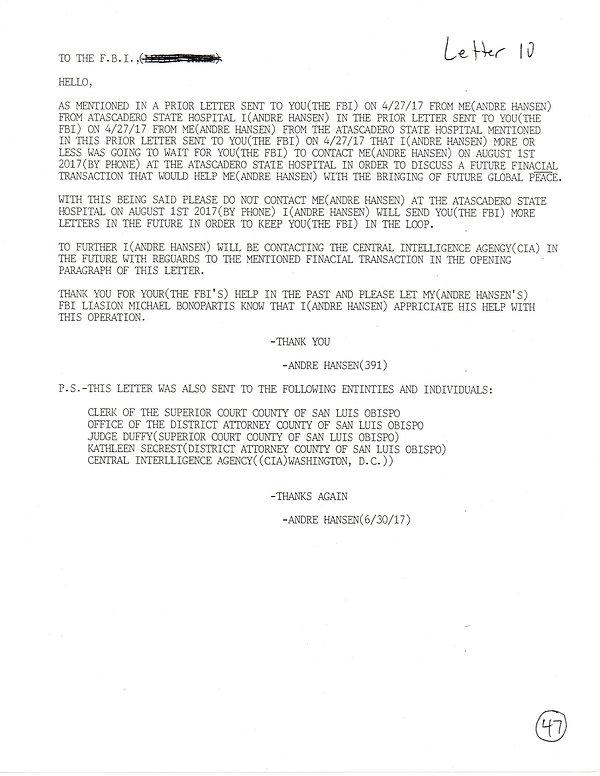 OWOM letter 10, page 1  20191126_1504003