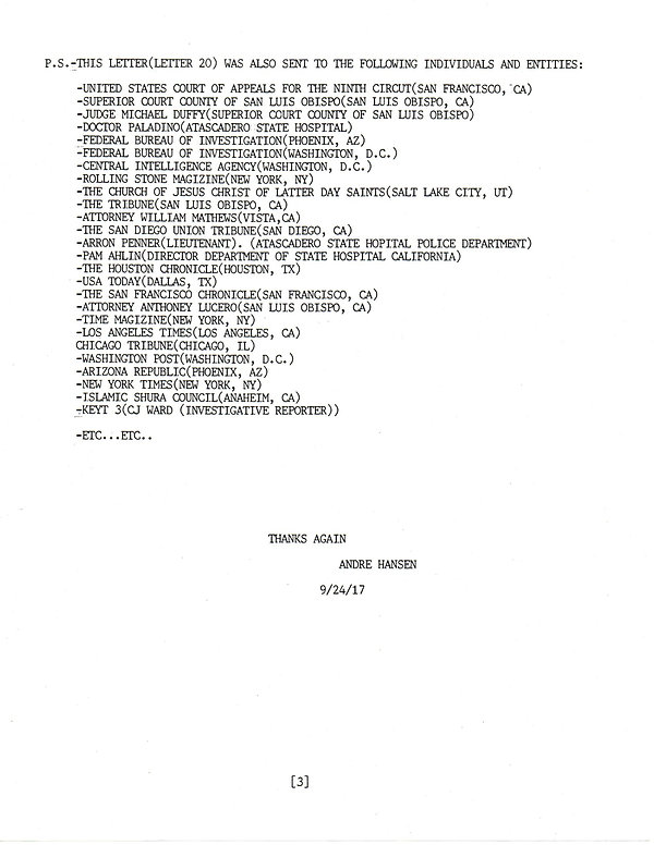 OWOM letter 20 , page 3         20191202