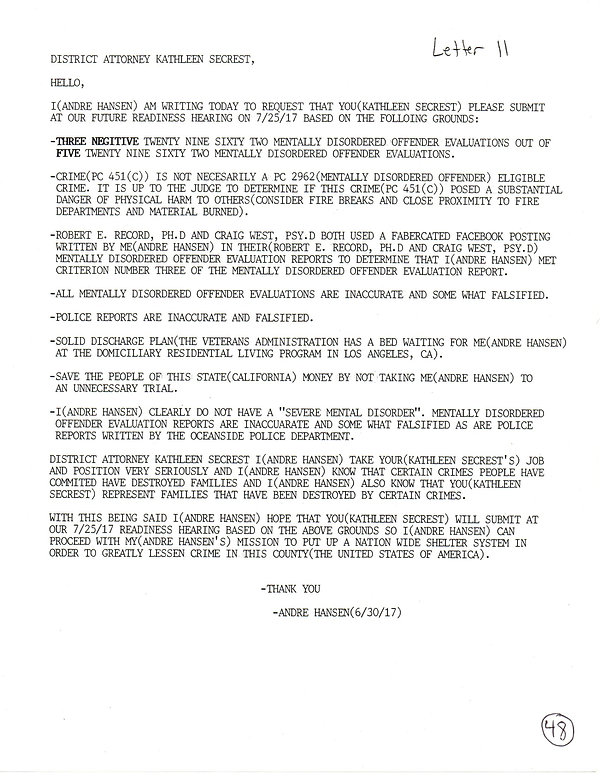 OWOM letter 11, page 1  20191126_1505390
