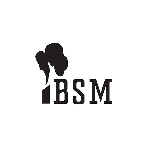 BSM Smoke Stack Sticker