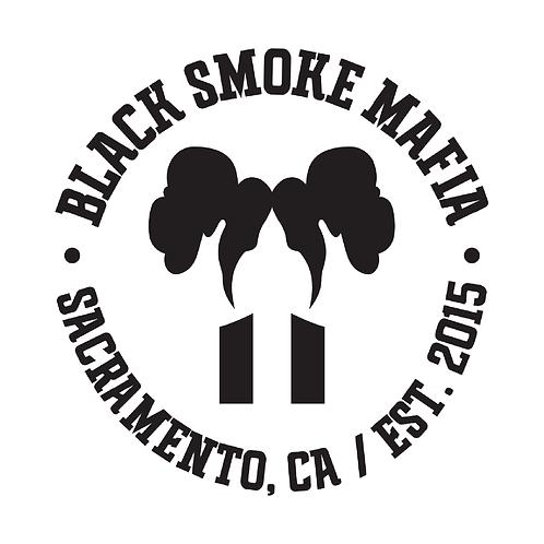Black Smoke Mafia Circle Stack