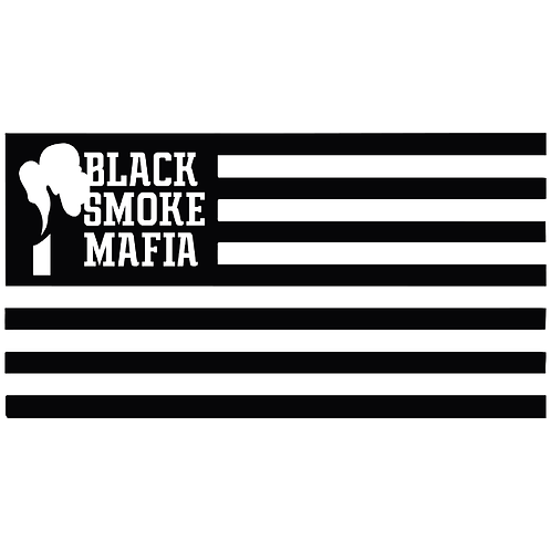 Black Smoke Mafia Flag