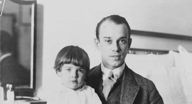 Vaslav met zijn dochtertje