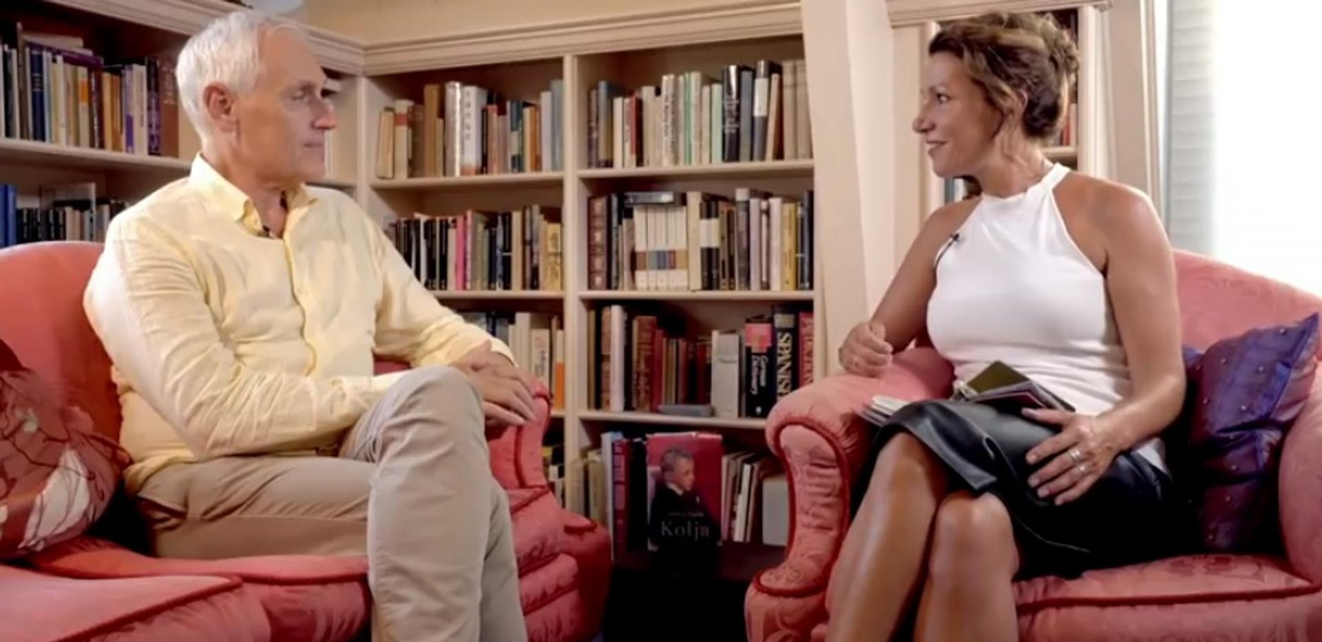 Interview Janneke Siebelink met Arthur Japin over zijn roman Kolja.