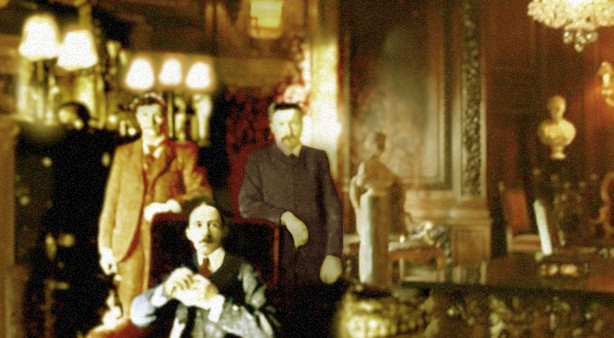 Santos-Dumont samen met Chapin