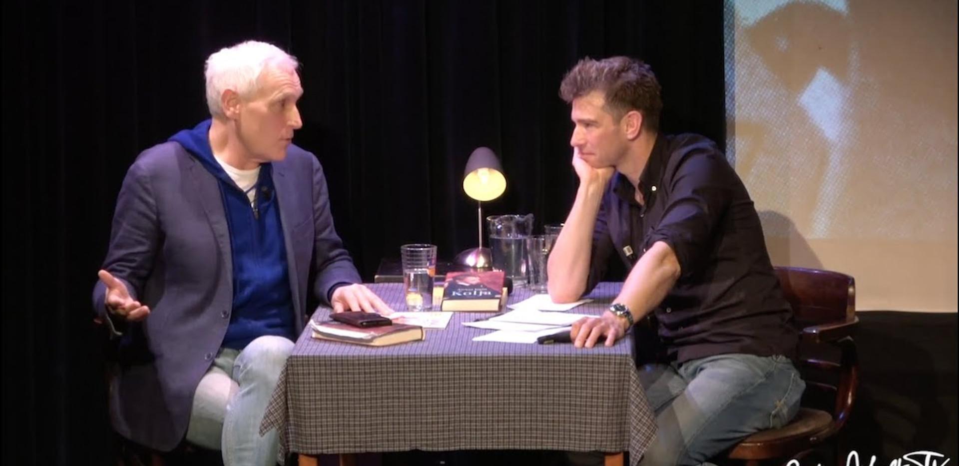 Arthur Japin over Kolja bij Barts BoekenClub