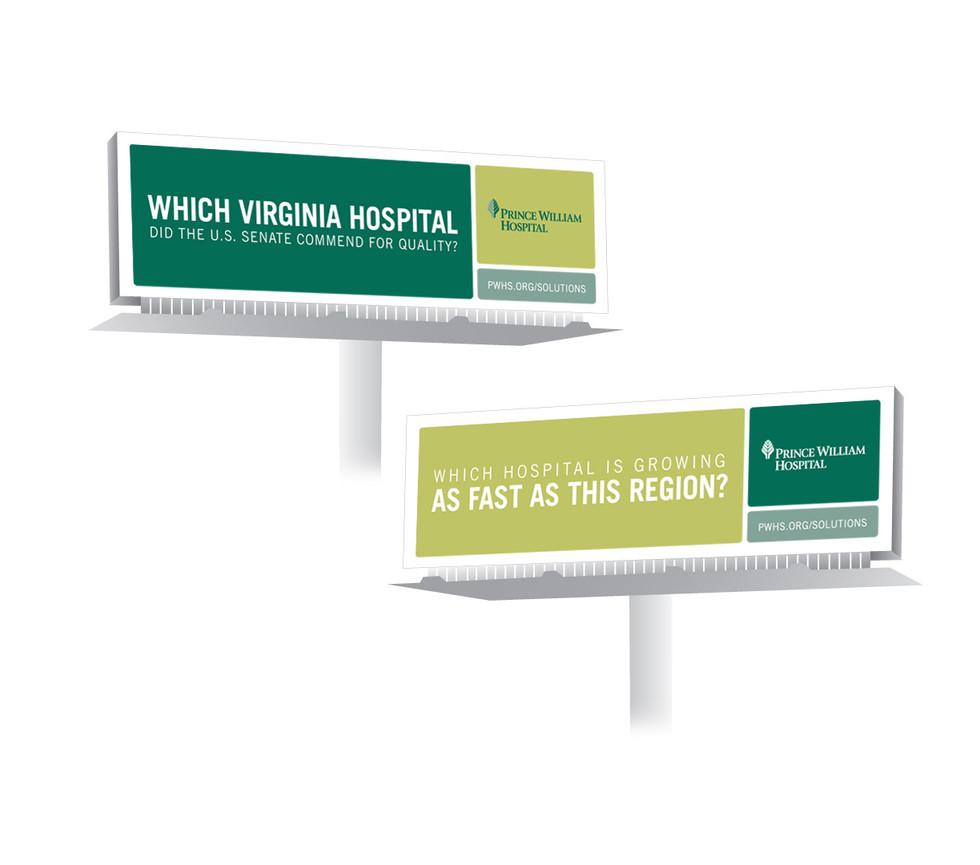 hospital billboards meg morrison design