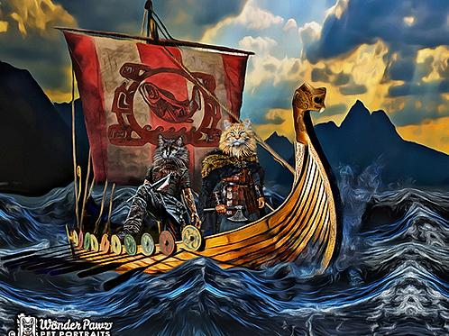 11x14 Viking Kats