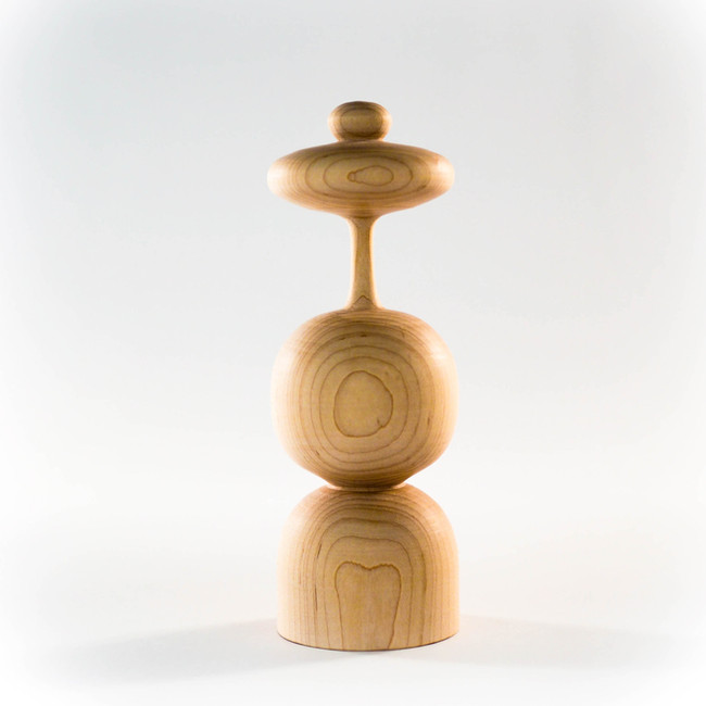 handmade wood table top sculpture by Meg Morrison Design
