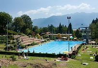 Schwimmbad Carona Lugano