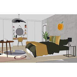 Render Design - 14 year old Girls Bedroom