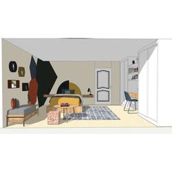 Render Design - 12 year old Boy Bedroom